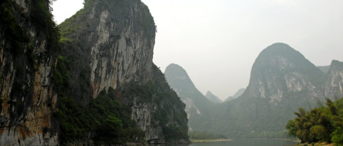 China Karstlandschaft Lifluss