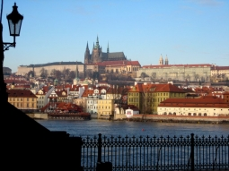 Prag Burg Winter