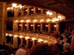 Prag Nationaltheater Logen