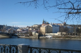 Prag Panorama Winter