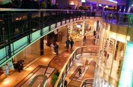 Prag Palladium Shopping Ladenetage